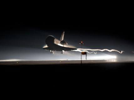 Atlantis - final landing (Nasa.gov)